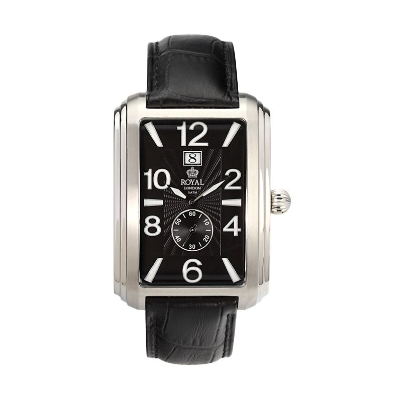 Royal London RL 40074-01 Black Jam Tangan Pria