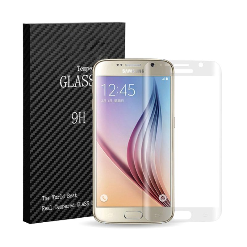9H Tempered Glass Full Screen Clear Screen Protector for Samsung Galaxy S6 Edge