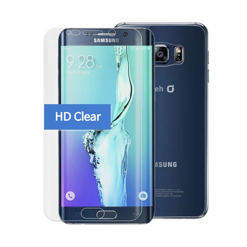 Happy Mori HD Clear Full Screen Protector for Samsung Galaxy S6 Edge Plus