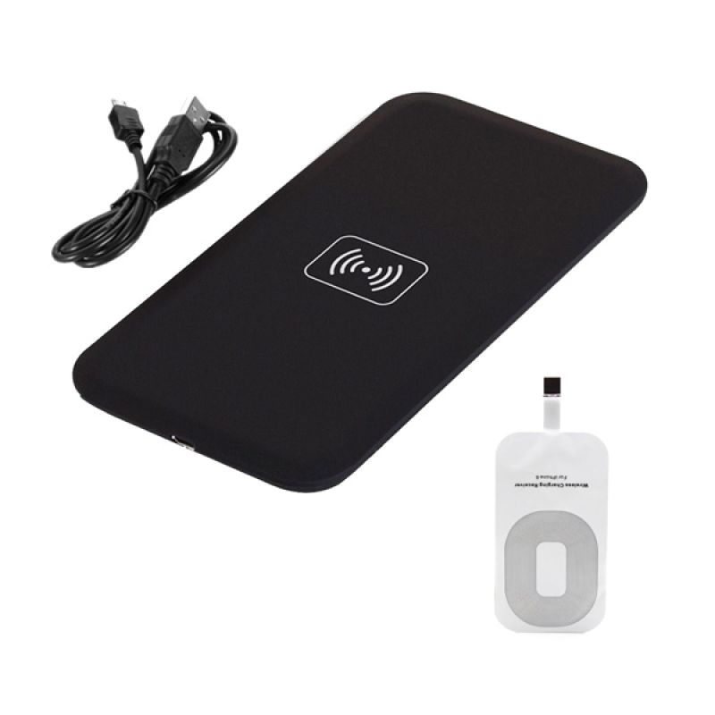 QI Black Wireless Charger for iPhone 6 or 6 Plus