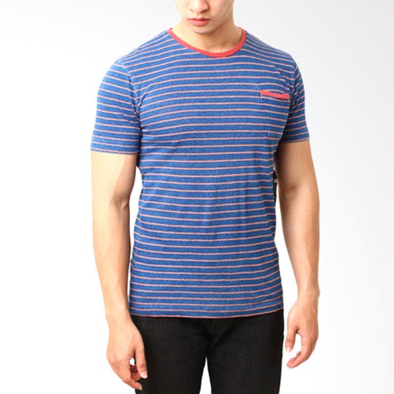 Billabong 7 Blue T-Shirt Pria