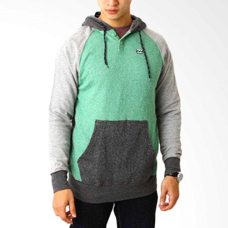 Billabong Swo 6 Abu-Abu Hijau Sweater Pria