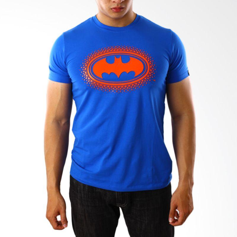 DC Comics Batman 4 Blue T-Shirt Pria