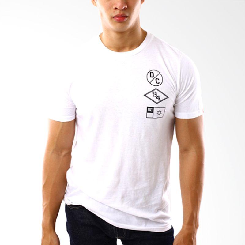 DC Shoes Original To DC 59 Putih T-Shirt Pria