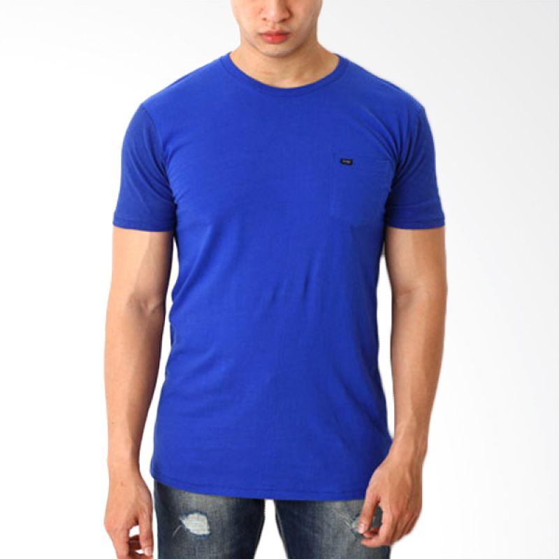Globe To 82 Blue T-Shirt Pria