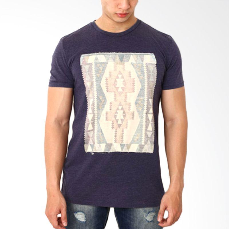 Globe To 89 Ungu T-Shirt Pria