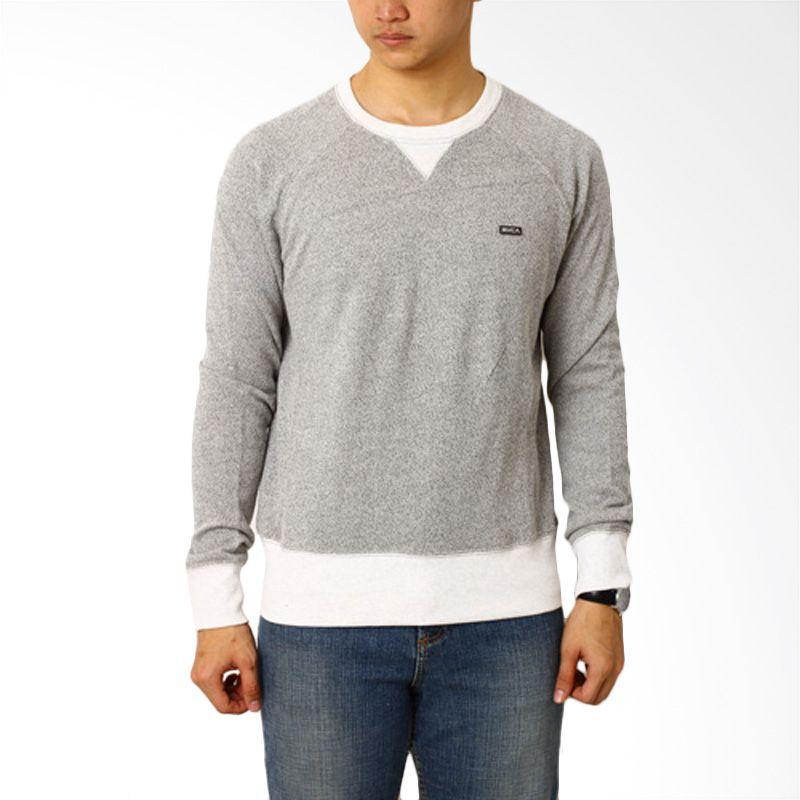 RVCA Klo RVCA Light Grey Sweater Pria