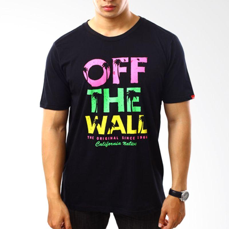 Vans To 68 Writing Black T-Shirt Pria