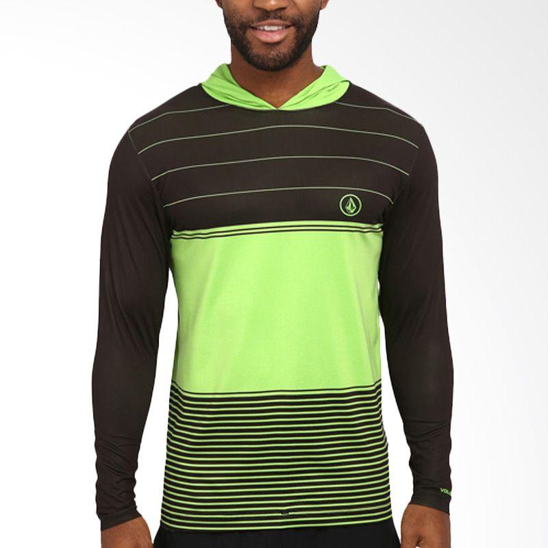 Volcom Rgop Volcom 6 Green Kaos Pria