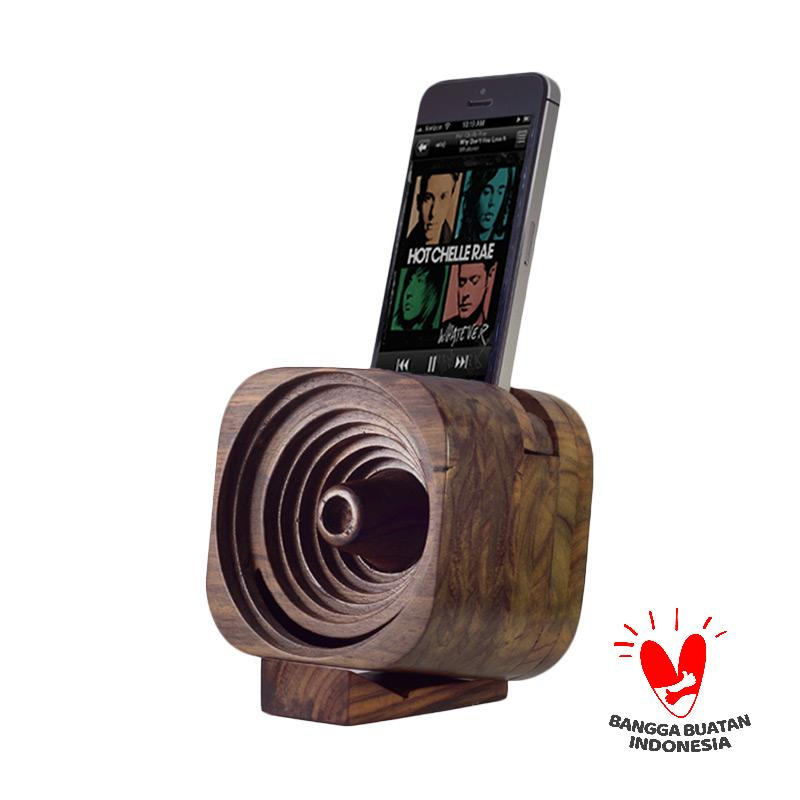 Ruaya Reckoner Kayu Speaker for iPhone 6 6S 6 Plus