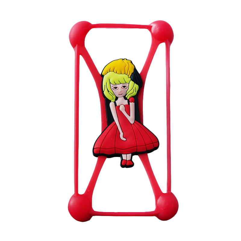 Rubber Girl 2 Universal Casing - Red