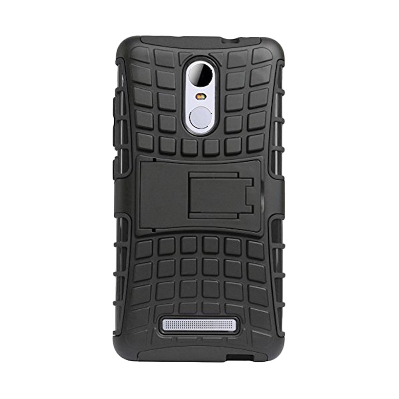 info for 5e6c4 ecbbb Rugged Armor Kickstand Otterbox Back Cover Robot Casing for Xiaomi Redmi  Note 3 - Hitam
