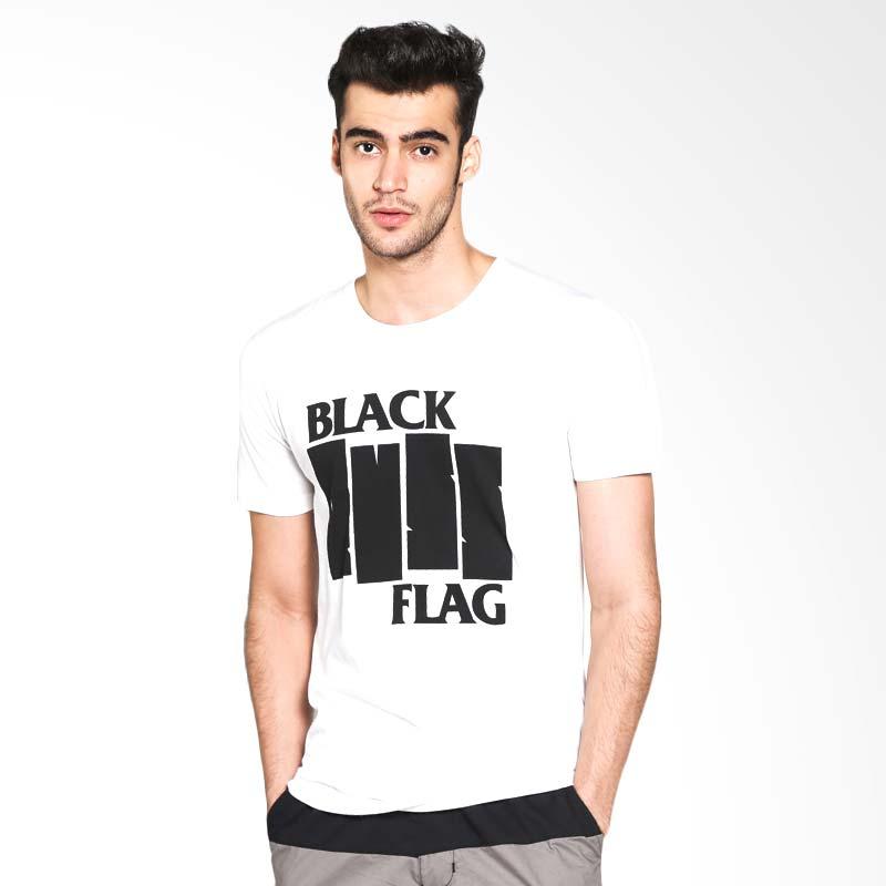 Russ Blackflag 10001607310 T-Shirt - White Extra diskon 7% setiap hari Citibank – lebih hemat 10% Extra diskon 5% setiap hari