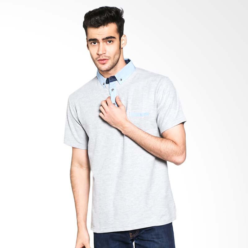 Russ Keaton 12051613620 Polo Shirt - Grey Extra diskon 7% setiap hari Extra diskon 5% setiap hari Citibank – lebih hemat 10%