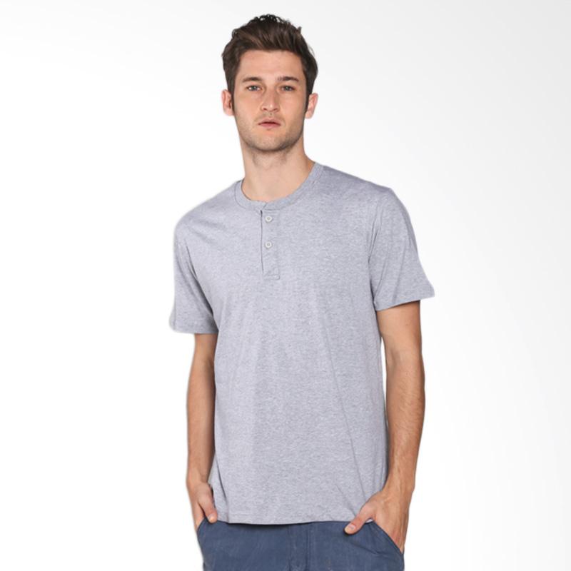 Russ Pinot 10001608921 T-Shirt - DK Grey Extra diskon 7% setiap hari Extra diskon 5% setiap hari Citibank – lebih hemat 10%