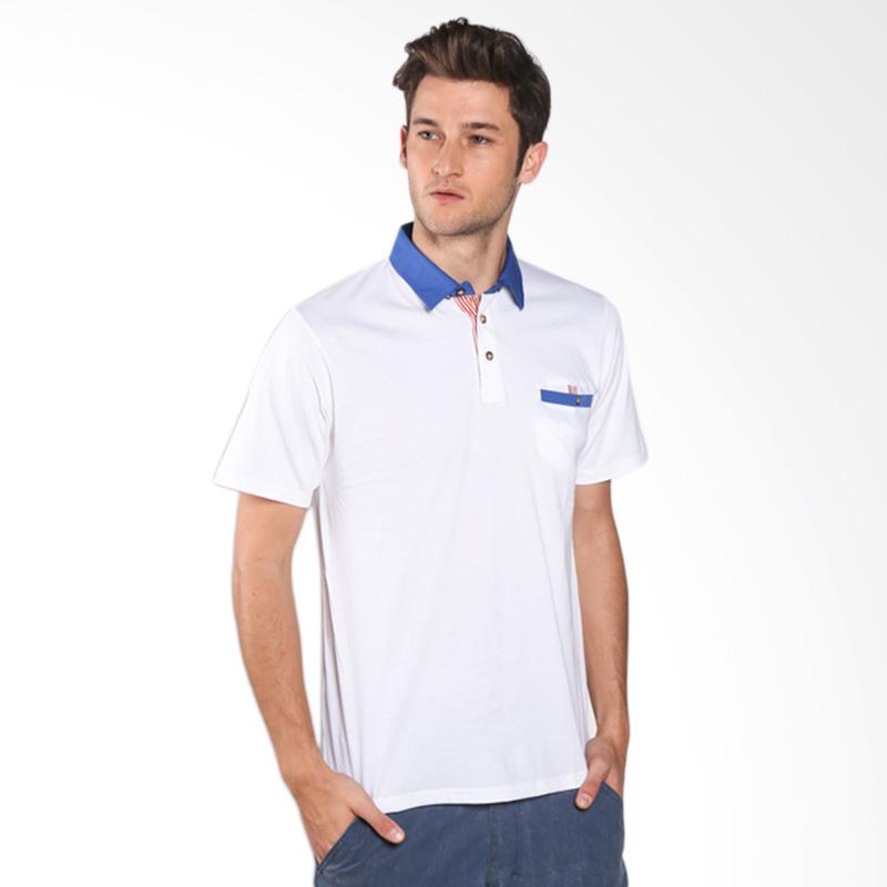 Russ Ventura 12051613810 Polo Shirt - White Extra diskon 7% setiap hari Extra diskon 5% setiap hari Citibank – lebih hemat 10%
