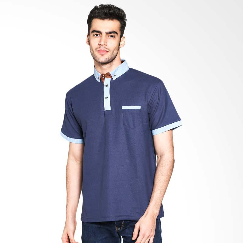 Russ Vince 12051613432 Polo Shirt - Navy Extra diskon 7% setiap hari Extra diskon 5% setiap hari Citibank – lebih hemat 10%