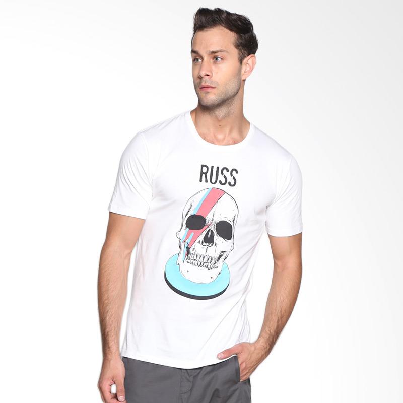 Russ Ziggy 10001608110 T-shirt - White Extra diskon 7% setiap hari Extra diskon 5% setiap hari