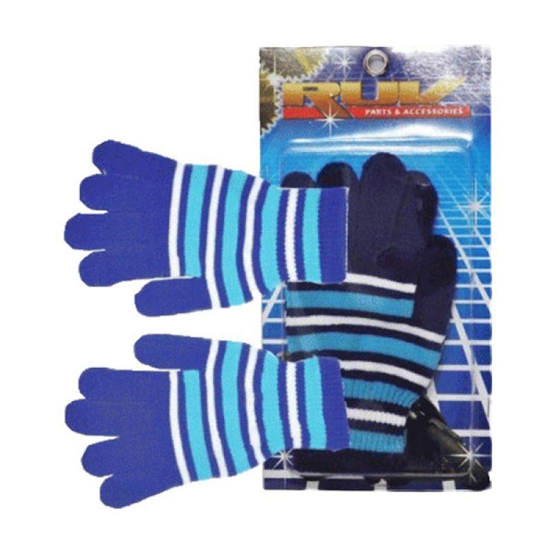 Ruv Stripe Biru Putih Sarung Tangan