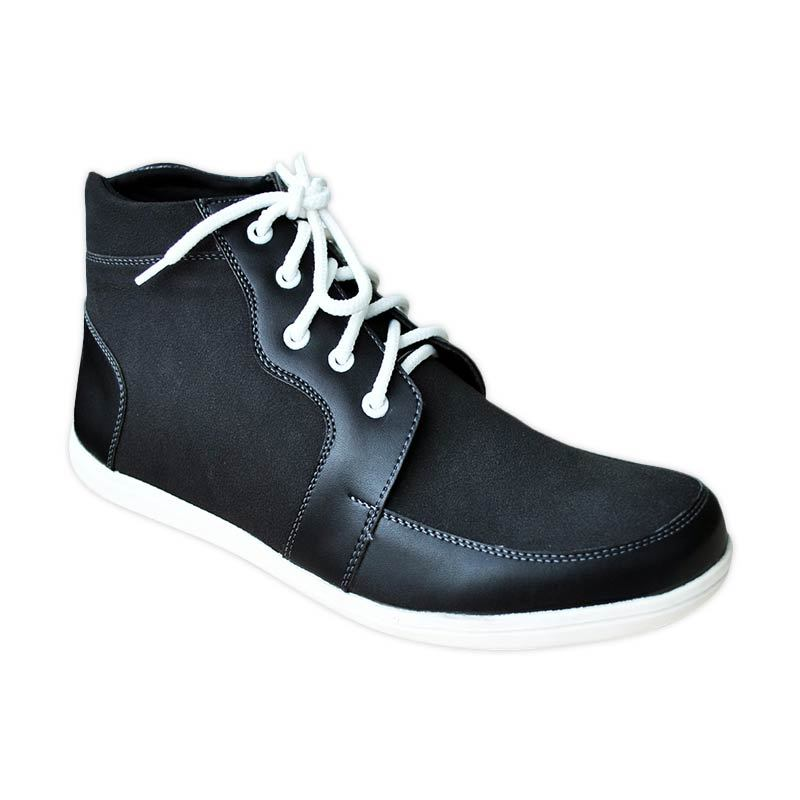 S. van Decka RK 03 Sepatu Casual Pria - Hitam
