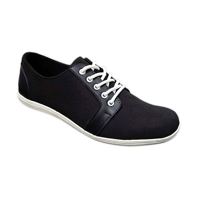 S. Van Decka Rk 08 Sepatu Casual Pria - Hitam