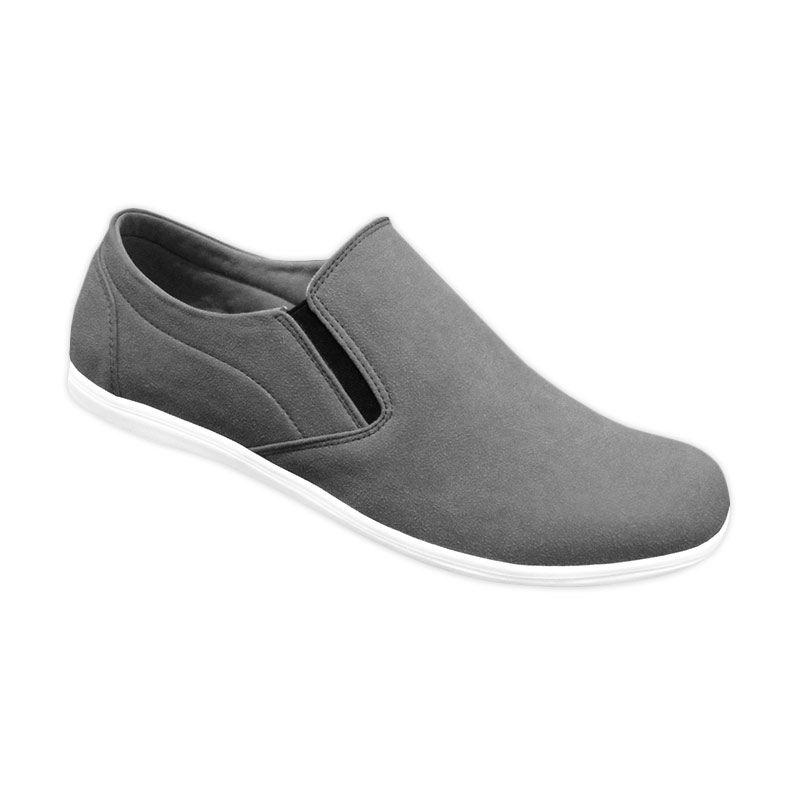 S. van Decka RK 09A Sepatu Casual Pria - Abu