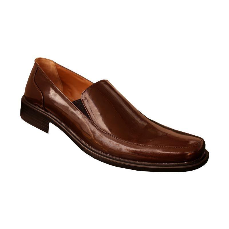 S. van Decka TK 025B Sepatu Formal Pria - Kopi