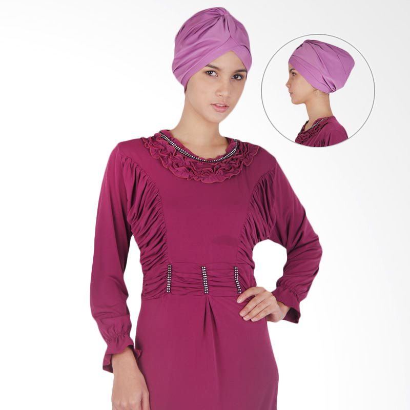 SABS Turban Plain Purple