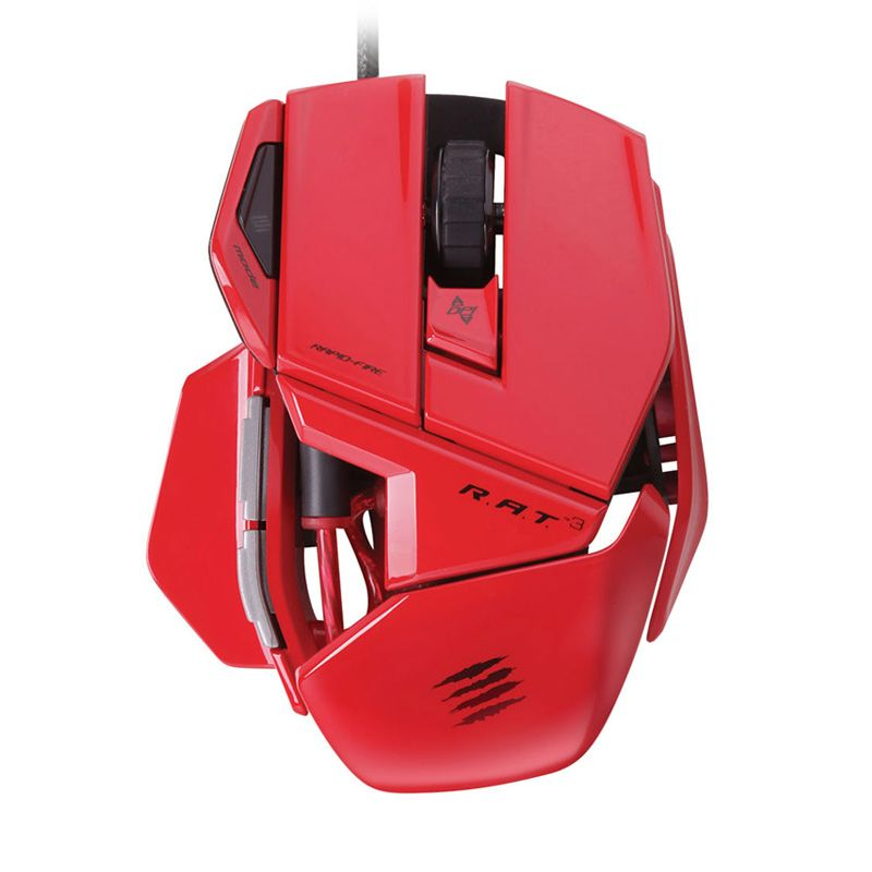 Madcatz R.A.T.3 Merah Gaming Mouse