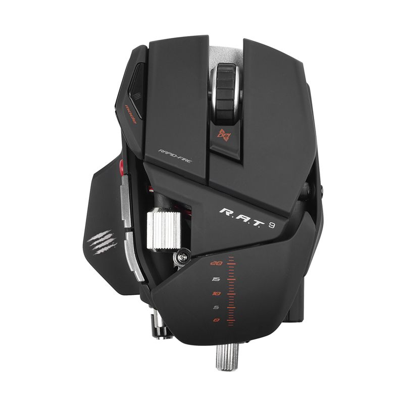 Madcatz R.A.T.9 Matte Black Wireless Gaming Mouse
