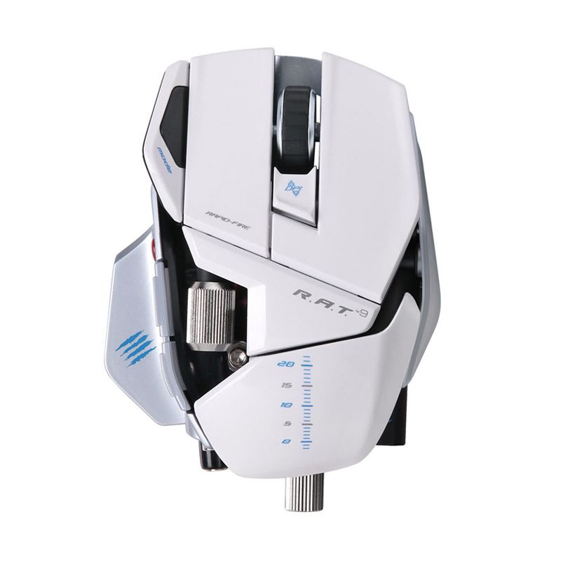 Madcatz R.A.T.9 Putih Wireless Gaming Mouse