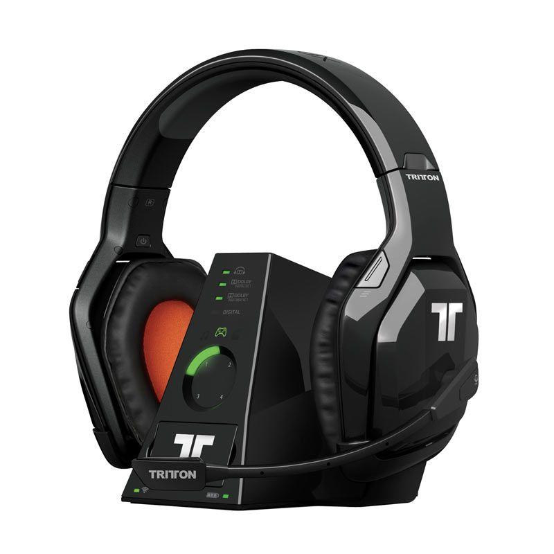Tritton X360 Warhead 7.1 Hitam Wireless Gaming Headset