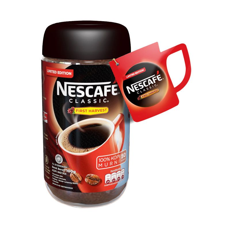 Wallet - Nescafe Classic First Harvest Limited Edition Kopi [100 g]