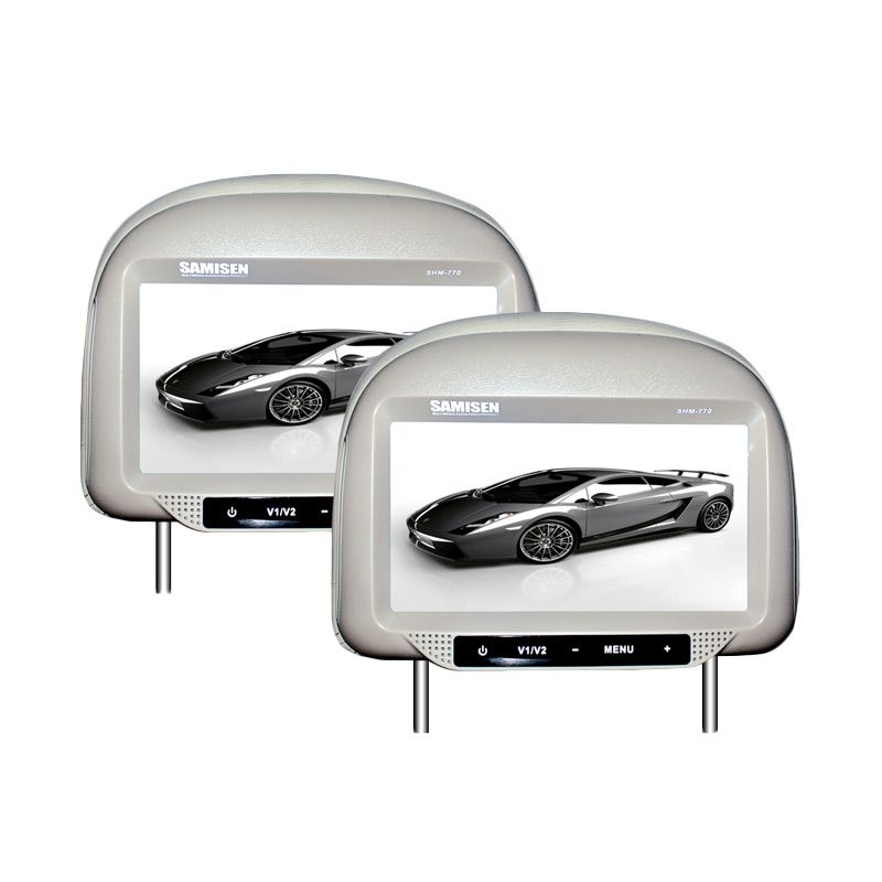 Samisen SHM-770 Mocca Headrest Monitor Mobil [7 Inch]