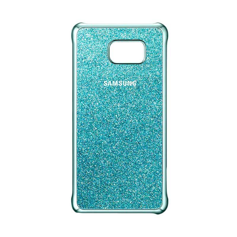 Samsung Glitter Cover Blue Casing for Galaxy Note 5