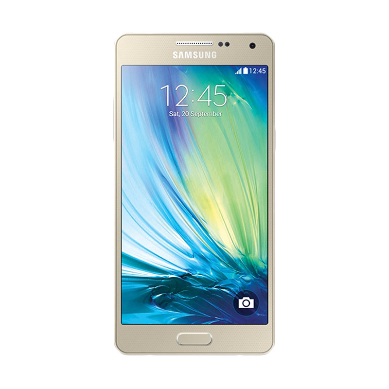 Samsung A7 Smartphone - Gold [2016 New Edition]