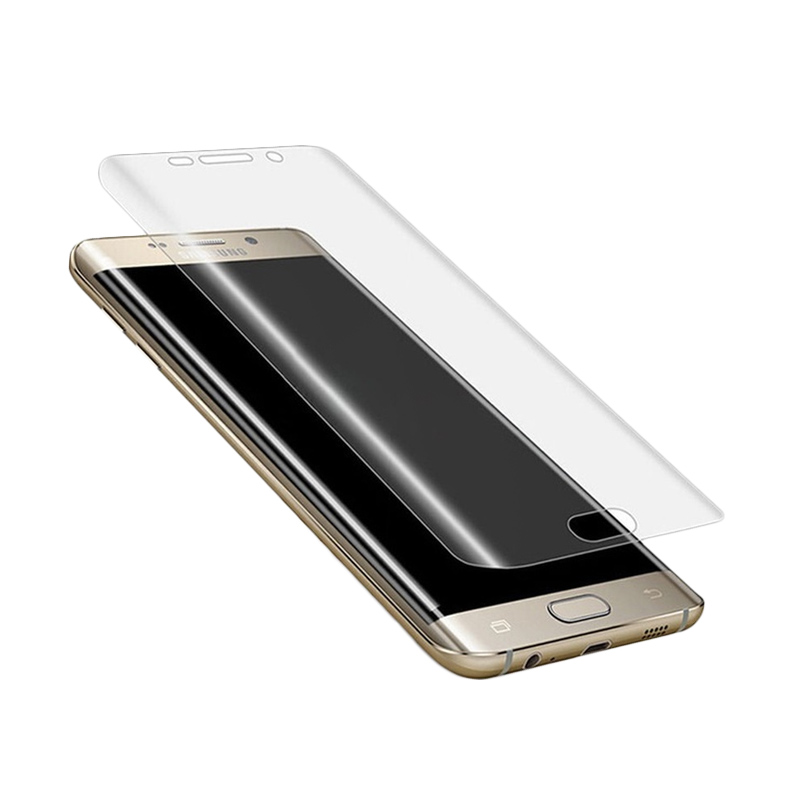 Samsung Anti Shock Full Curved Screen Protector for Samsung Galaxy S7 Edge - Clear