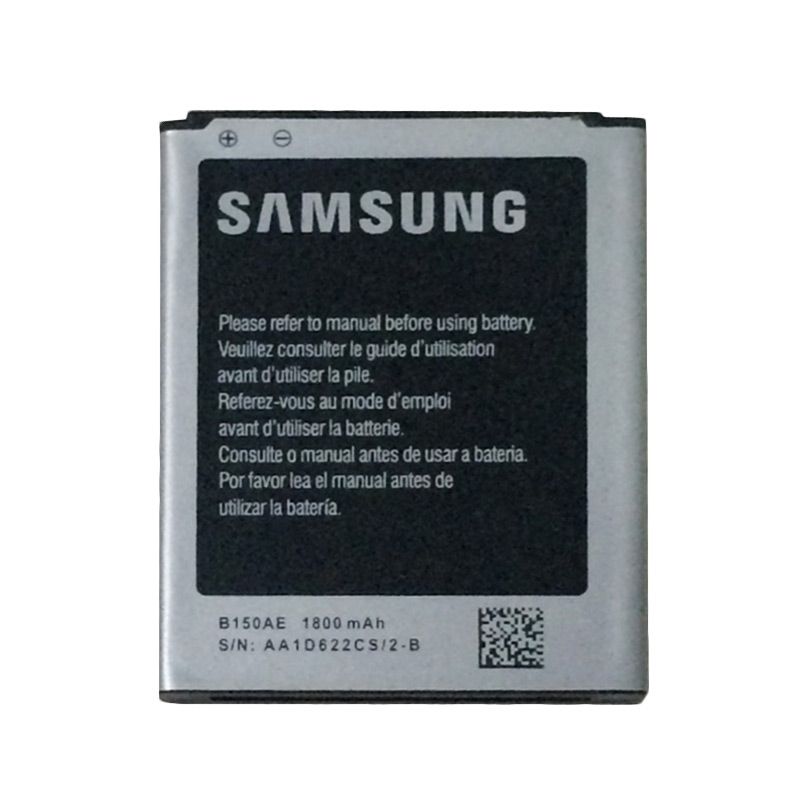 Samsung Battery B150AE Baterai for Galaxy Core 1 Type: i8262 Capacity: 1800 mAh - Original