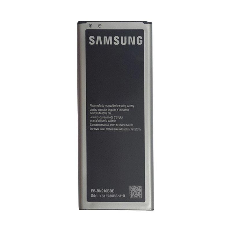 Jual Samsung Original Battery for Galaxy Note 4 SM N910H [3220 mAh] Online - Harga & Kualitas Terjamin   Blibli.com