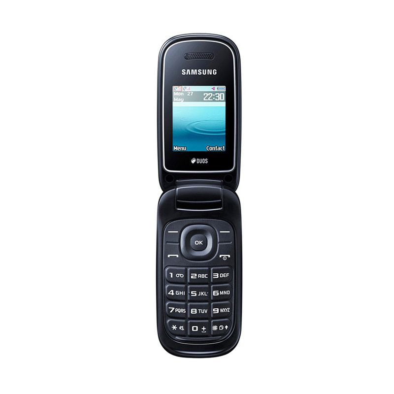 Samsung Caramel 1272 Handphone - Black - 9308228 , 15953684 , 337_15953684 , 499000 , Samsung-Caramel-1272-Handphone-Black-337_15953684 , blibli.com , Samsung Caramel 1272 Handphone - Black