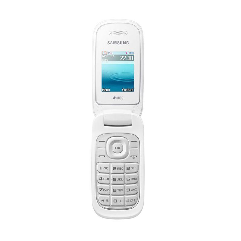 Samsung Caramel Handphone - Putih