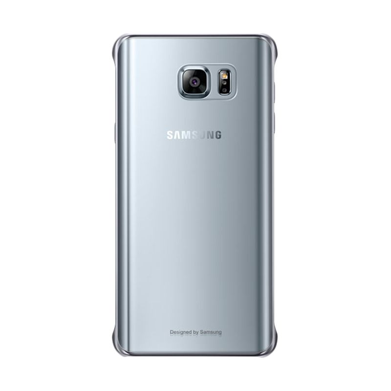 Samsung Clear Protective Silver Casing for Galaxy Note 5