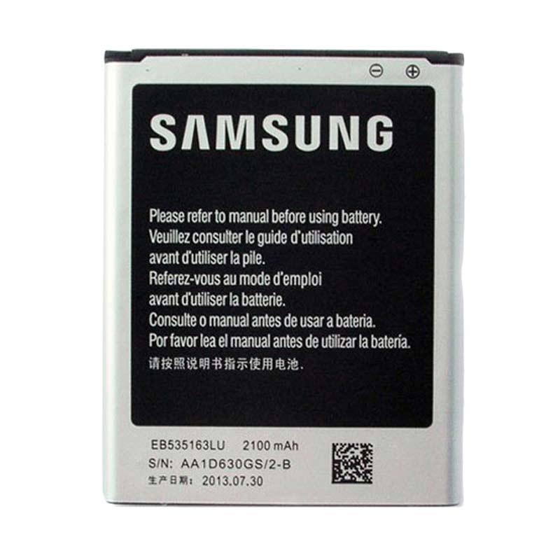Samsung Baterai for Galaxy Grand Duos i9082 2100 mAh (EB535163LU) - Original
