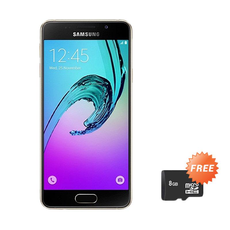 Samsung Galaxy A310 Smartphone - Gold [16GB] + Free MicroSD 8GB