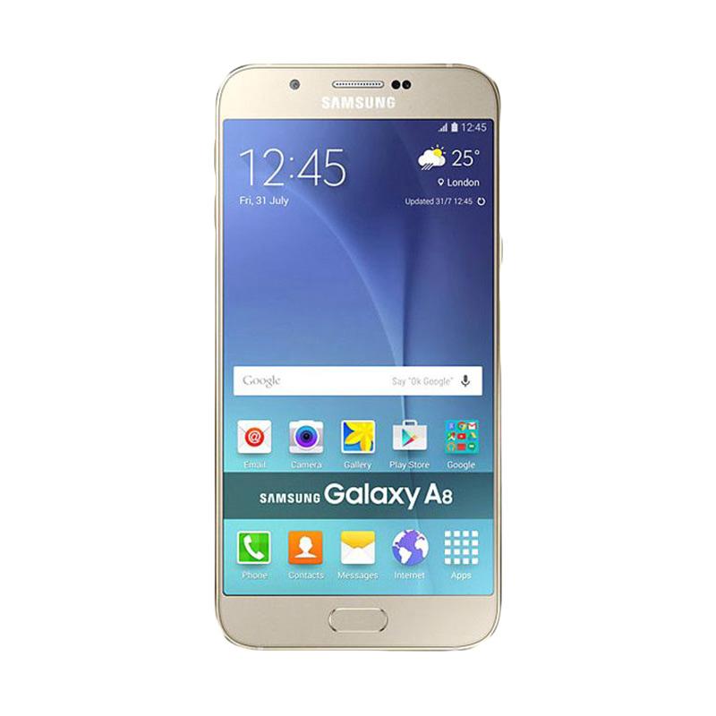 harga Samsung Galaxy A8 Smartphone - Gold Blibli.com