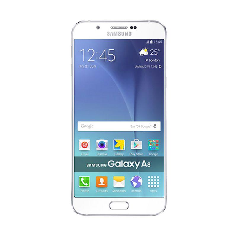 Samsung Galaxy A8 Smartphone - White