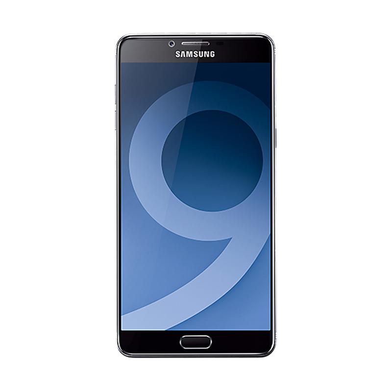 Kamis Ganteng - Samsung Galaxy C9 Pro Smartphone -Jade Black [64GB/6GB] - Resmi