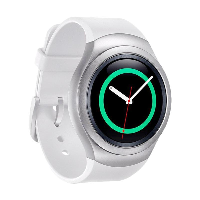 Samsung Galaxy Gear S2 Rubber Diamond Silver Smartwatch [Bluetooth]
