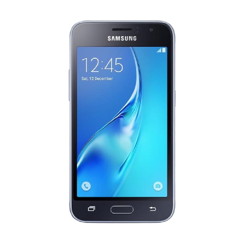 Samsung Galaxy J1 2016 Smartphone - Hitam [1 GB/8 GB]