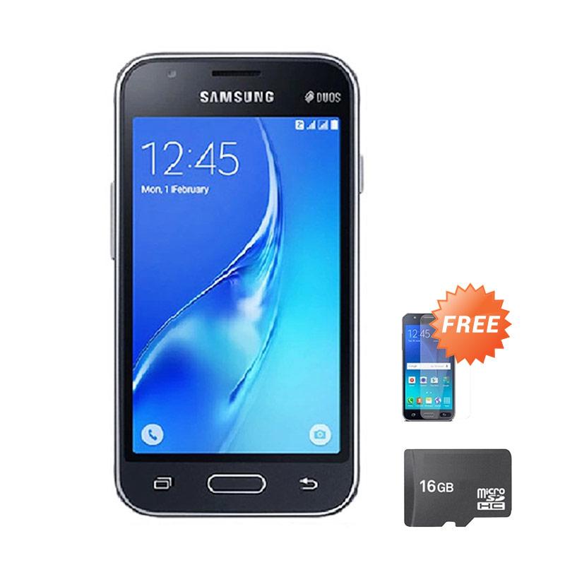 harga Samsung Galaxy J105 Mini Smartphone - Black [8 GB] + Free Anti Gores + Micro SD 16 GB Blibli.com